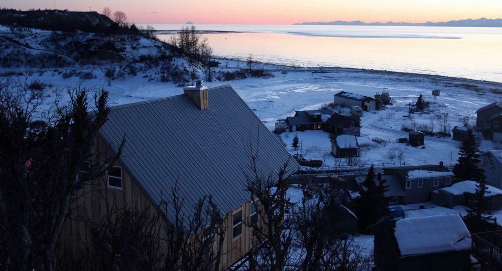 Neighborhood of Ninilcik village, Alaska