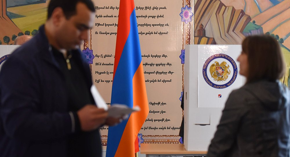 Parliamentary election in Armenia