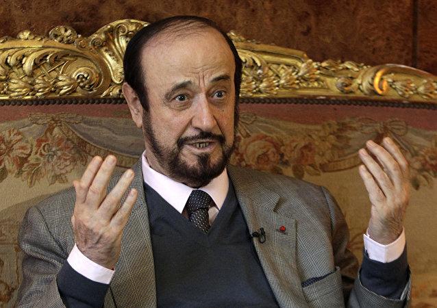 Former Syrian vice president Rifaat Assad (Fille)