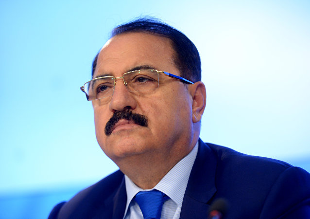 Syrian Ambassador to Russia Riyad Haddad