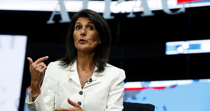 Haley warns U.S. reconsidering membership in United Nations rights council