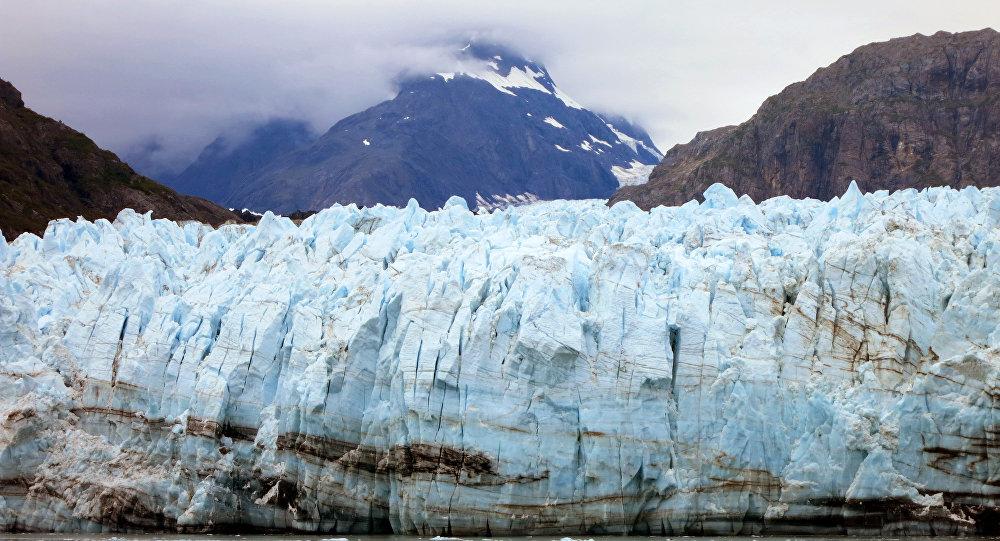 Margerie Glacier, one of many glaciers that make up Alaska's Glacier Bay National Park.