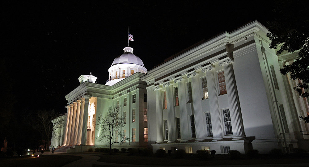 the Alabama Capitol in Montgomery, Ala.