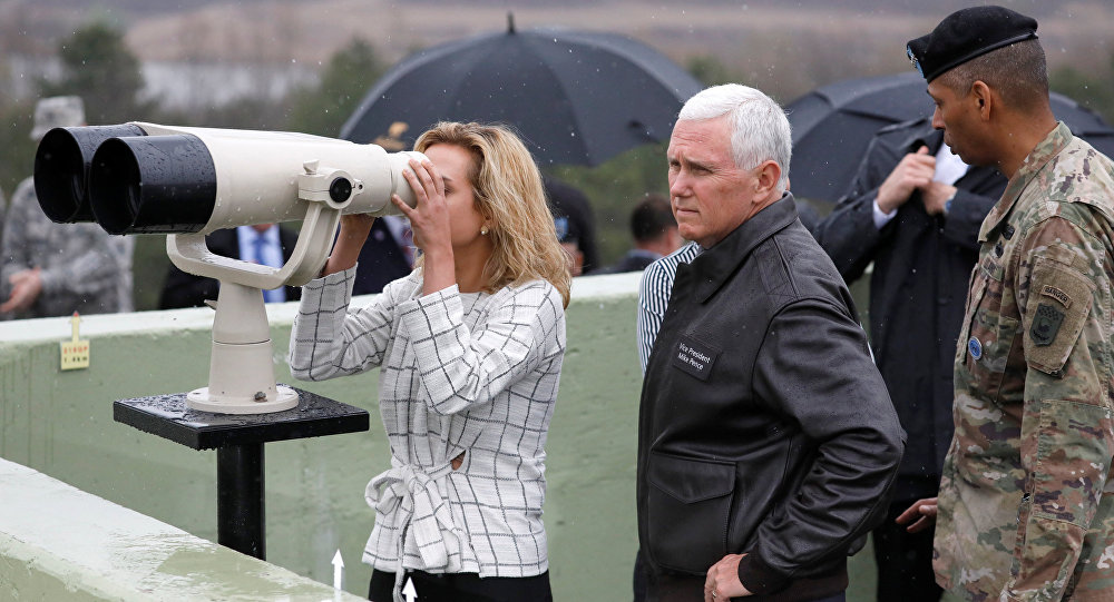 Mike Pence South Korea