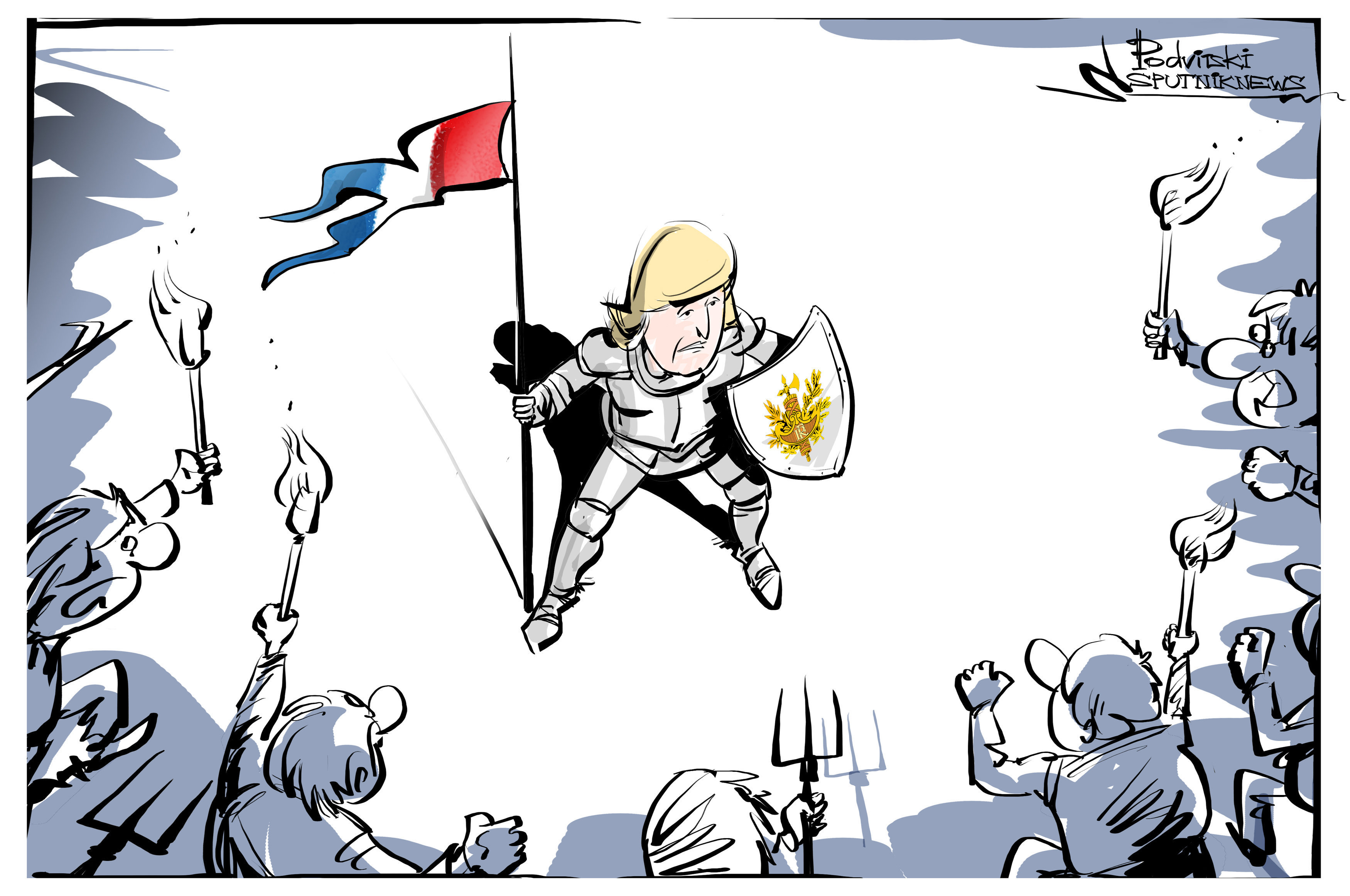 Marine Le Pen vs. the World