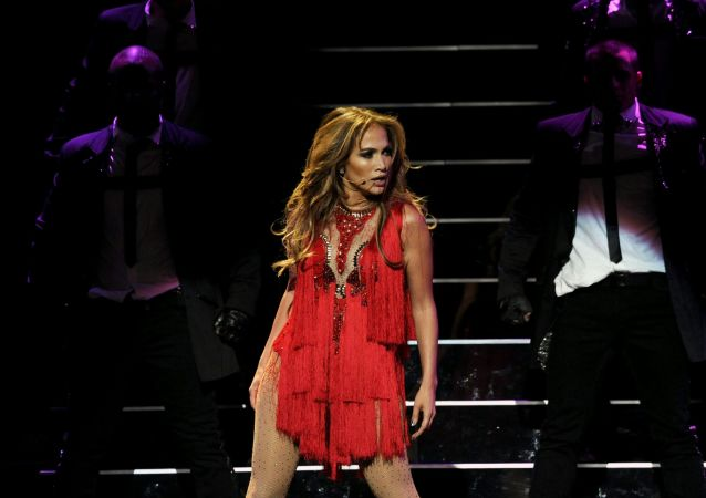 Jennifer Lopez performs during the iHeartRadio music festival on Saturday, Sept. 24, 2011, in Las Vegas.