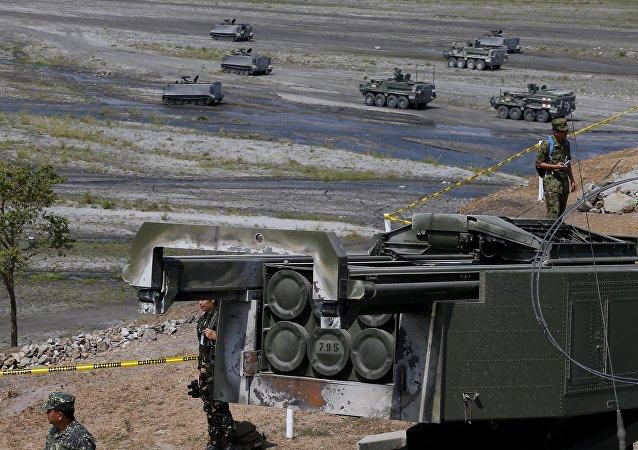 US-Philippines military exercise Balikatan 2016. (File)