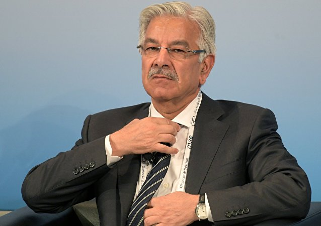 Pakistani Minister of Defense Khawaja Muhammad Asif
