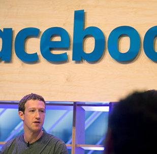 Facebook CEO Mark Zuckerberg in Berlin February 25, 2016