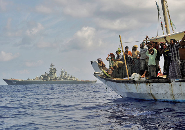 Somali pirates in the Gulf of Aden