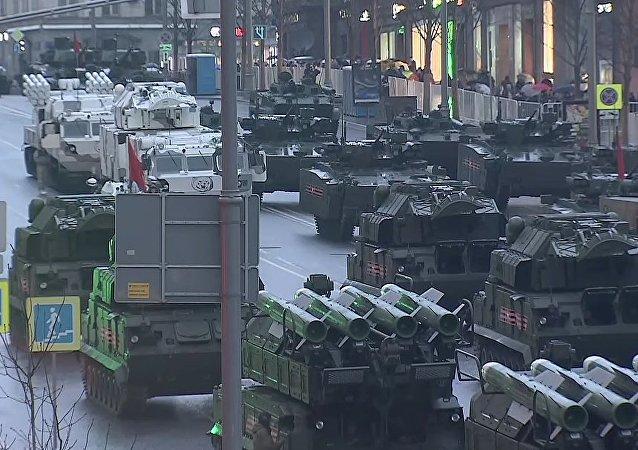 2017 Victory Day Parade Rehearsal