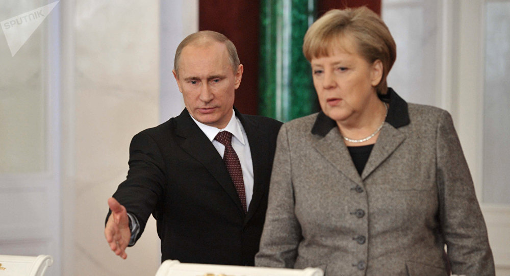 Russian-German bilateral talks in the Kremlin