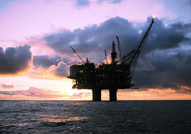 Statfjord-A offshore oil platform
