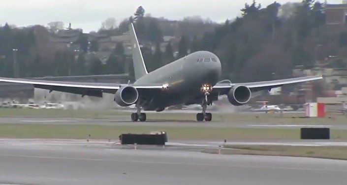Boeing - KC-46A Pegasus Tanker Aircraft First Flight