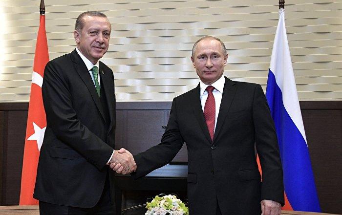 Putin, Erdogan Agree to Hold Meeting at BRICS Summit