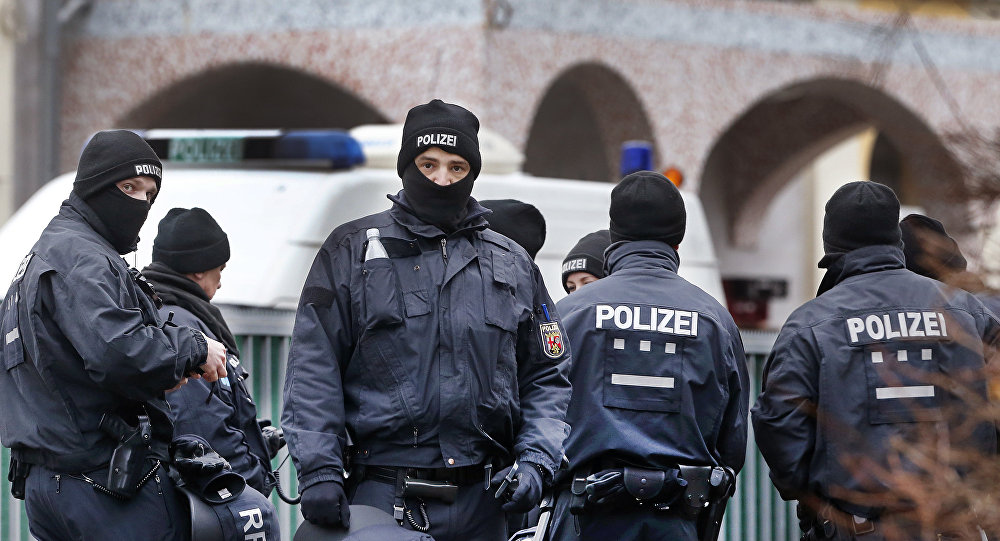 German police in Frankfurt, Germany (File)