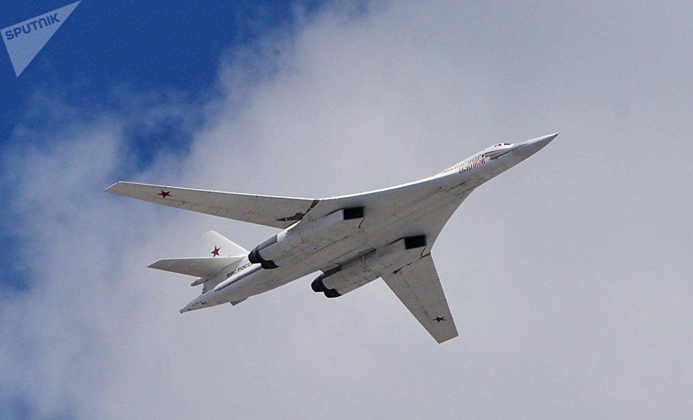 The Tu-160  strategic bomber