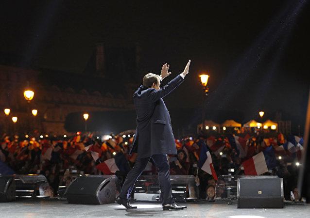 French president-elect Emmanuel Macron.