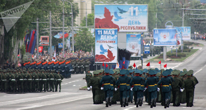 According to the Ukrainian deputy interior minister, some 50,000 people took part in celebrations on occasion of the Victory Day in Ukraine