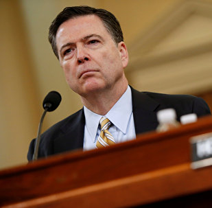 FBI Director James Comey testifies before the House Intelligence Committee hearing into alleged Russian meddling in the 2016 U.S. election, on Capitol Hill in Washington, U.S. (File)