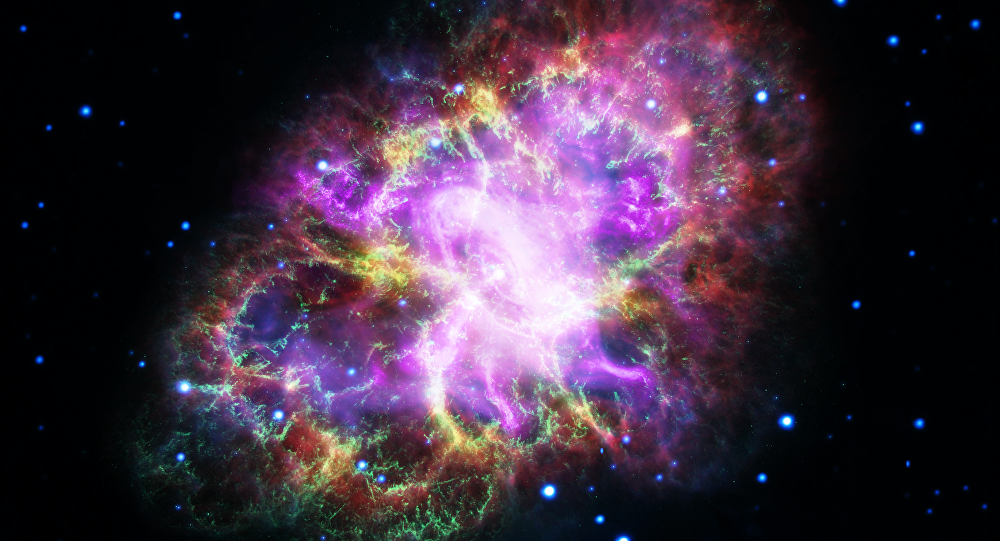 New View of the Crab Nebula