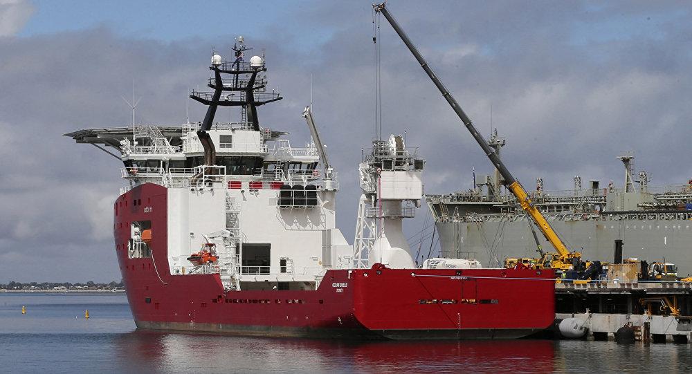 Australian navy ship Ocean Shield