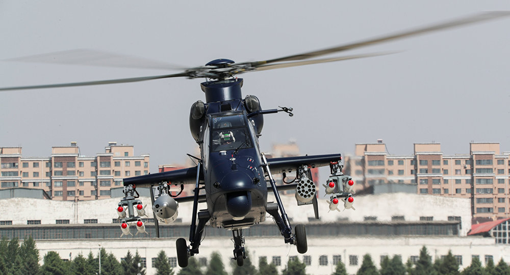 Chinese Z-19 Attack Helicopter