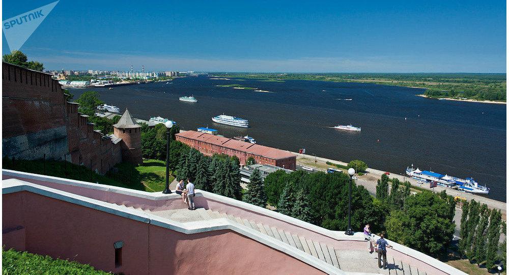 Nizhny Novgorod. Volga River