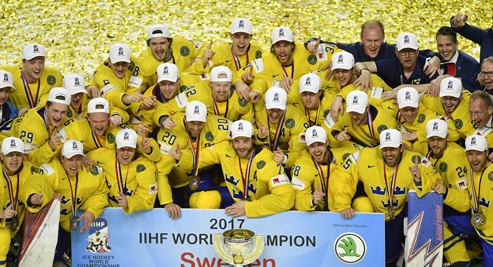 As cool as ice Swedes hold nerve to win title