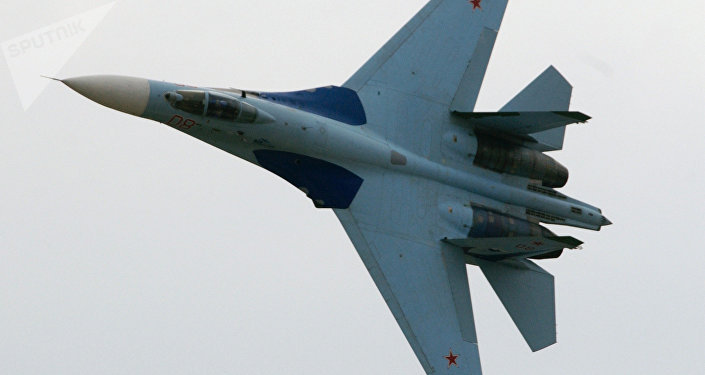 Russian Su-27 Fighter Intercepts US Reconnaissance Aircraft Over Black Sea