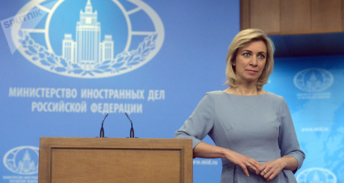 Foreign Ministry Official Spokesperson Maria Zakharova at a briefing on current foreign policy issues