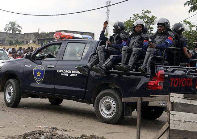 Congolese police. Kinshasa, Congo(File)