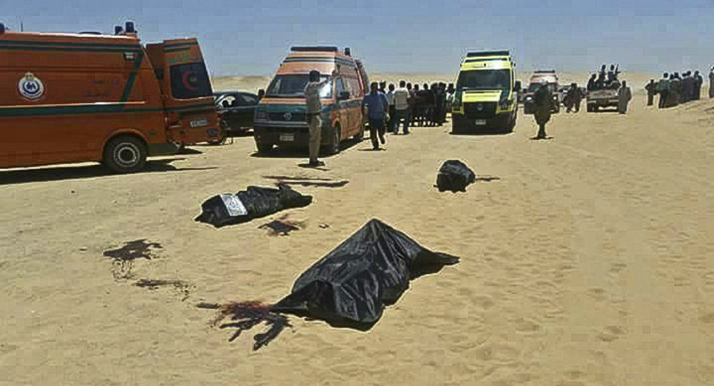 Islamic State claims responsibility for killing Coptic Christians in Egypt