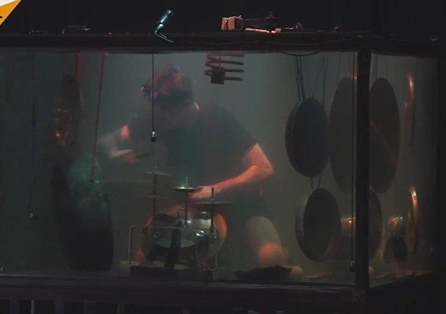 Musicians Perform Underwater