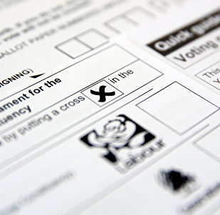 Postal voting papers for the UK general election, which is due to take place June 8, 2017, are seen in this illustration picture taken May 26, 2017