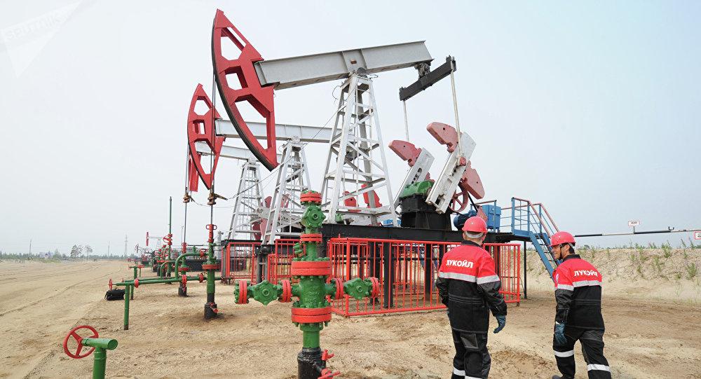 Oil production in Khanty-Mansi Autonomous District