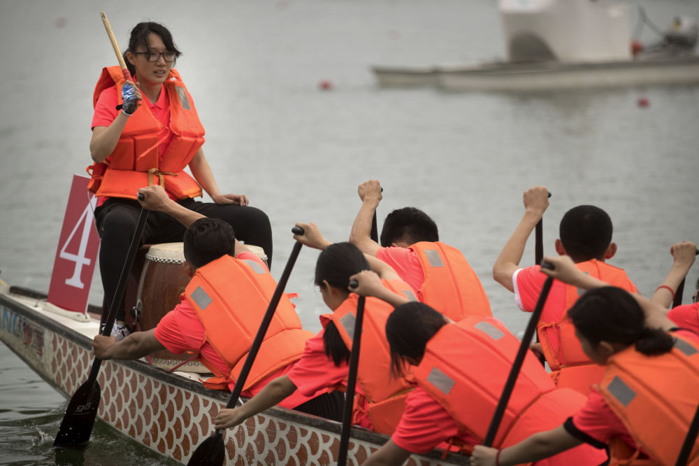 China's Dragon Boat Festival Gets Underway