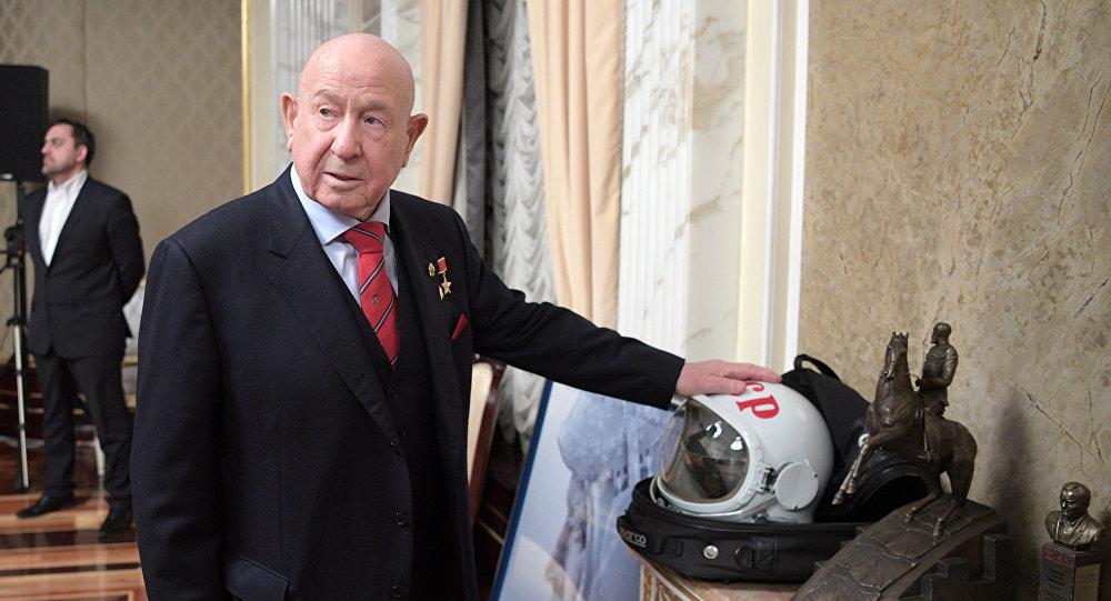 Cosmonaut Alexei Leonov (File)
