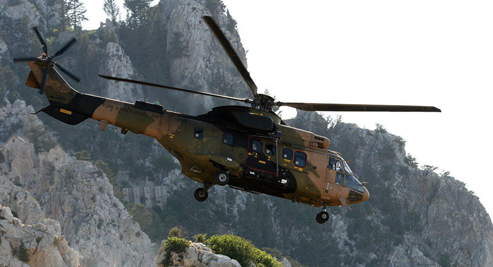 Kurdish militants claim downing of Turkish military chopper