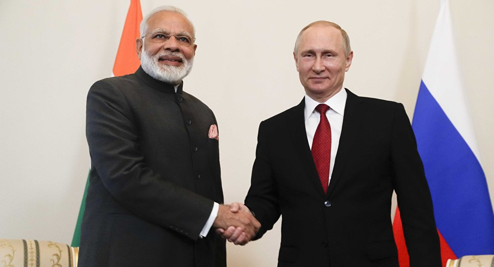 "Vijay Bhatia: ""The defence ties between India and Russia are very strong"""