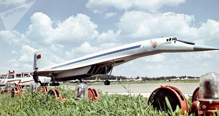 Supersonic passenger aircraft Tu-144