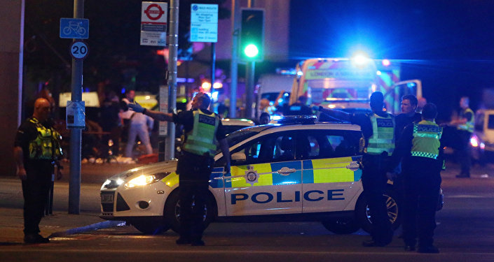 Police attend to an incident near London Bridge in London, Britain, June 3, 2017