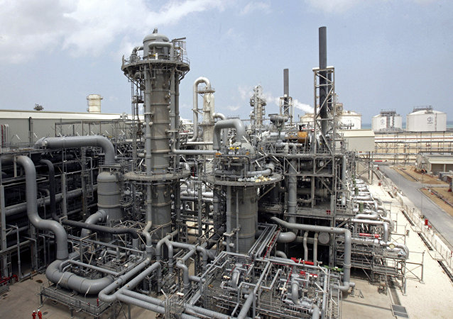 Gas production facility is seen at Ras Laffan, Qatar (File)