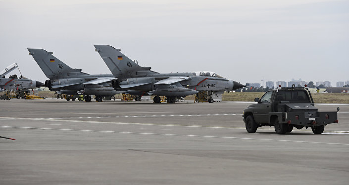 German Tornado jets on the ground at the air base in Incirlik, Turkey (File)