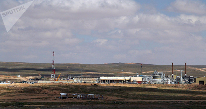 Shaer gas field. (File)