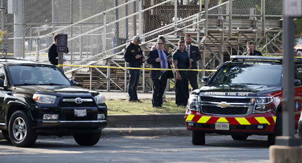 Gunman dead after wounding top Republican