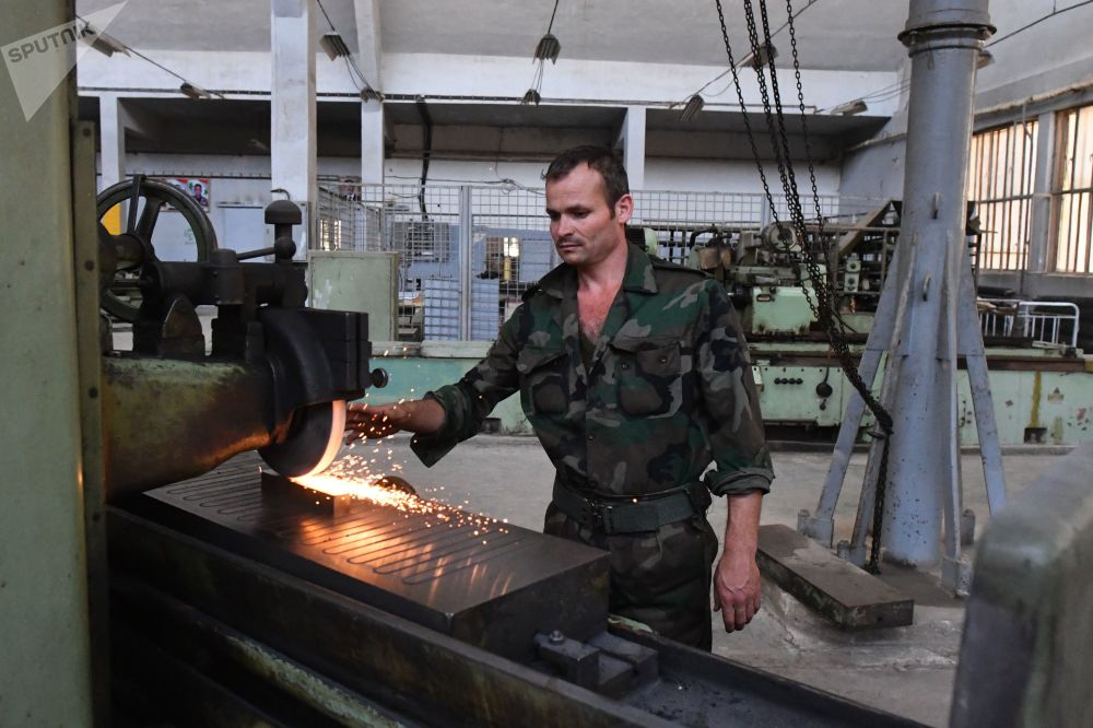 Respite Between Battles: Syrian Army's Artillery and Mortars Gain New Life at Hama Plant