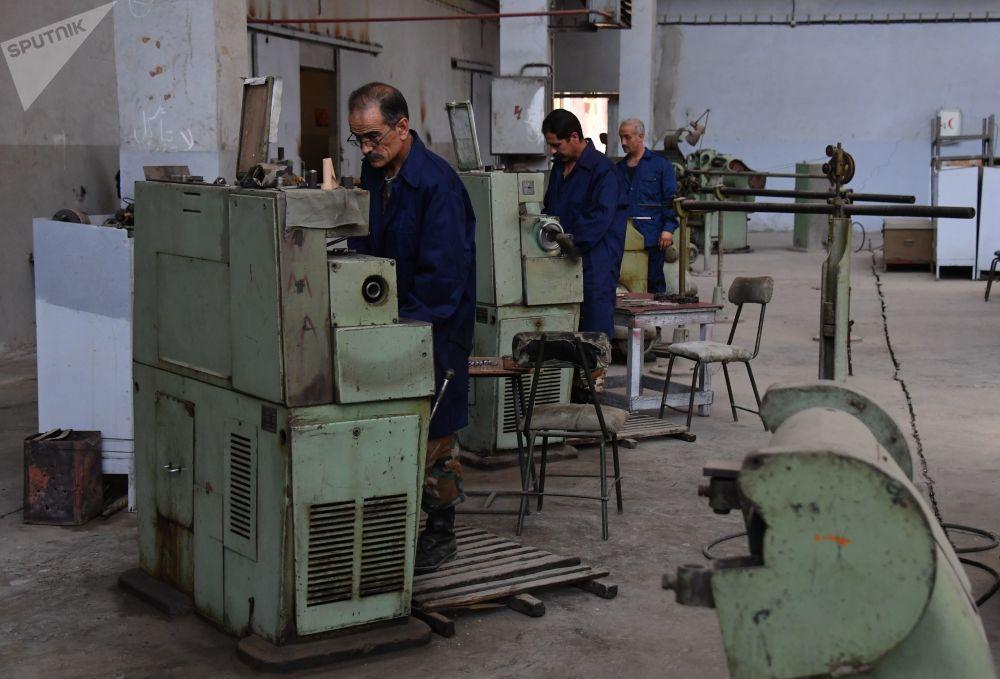 Respite Between Battles: Syrian Army's Artillery and Mortars Gain New Life at Hama Plant