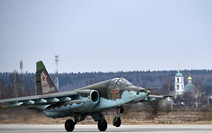 Watch Exclusive Footage of Russian Sukhoi Su-25 Jet's Shooting Practice