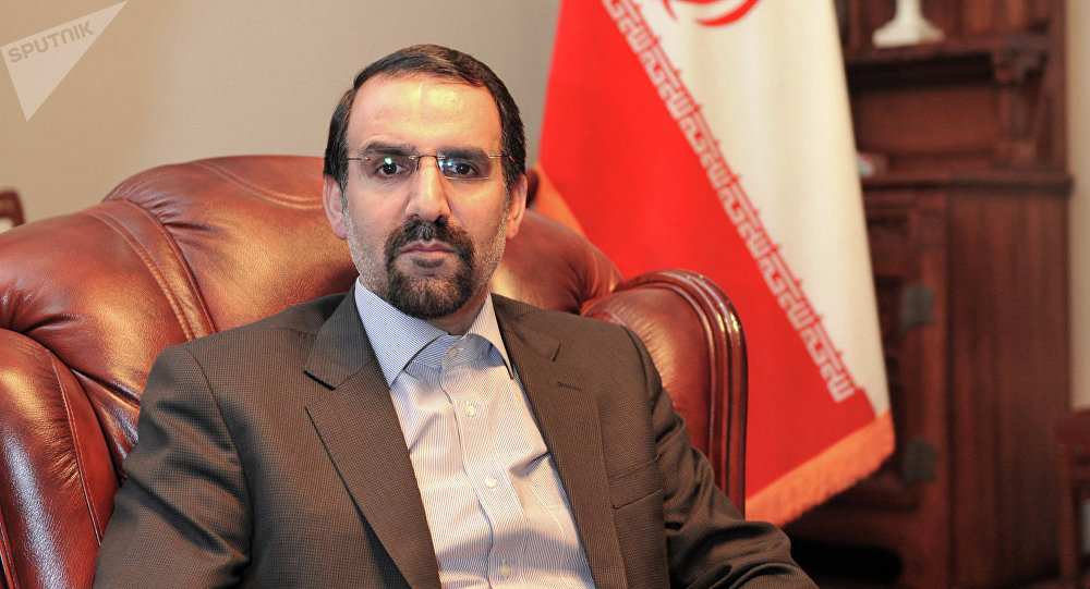 Ambassador of Islamic Republic of Iran to Russia Mehdi Sanaei